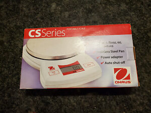 Ohaus CS2000 Digital Compact Bench Scale - White