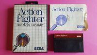 ACTION FIGHTER / jeu en boite + notice MASTER SYSTEM SEGA / PAL