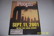 September 24 2001 PEOPLE Magazine 9/11 THE DAY THAT SHOOK AMERICA Twin Towers