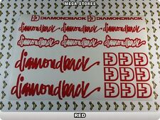 DIAMONDBACK Stickers Decals  Bicycles Bikes Cycles Frames Fork Mountain BMX 55LE