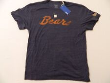 M57 New REEBOK Chicago Bears Gray Retro Vintage T Shirt Tee WOMEN'S 2XL