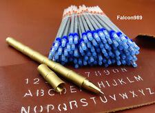 101 Pcs Leather Craft Silver Marking Pen Brass Ball Point Pen Tool Set Kit NEW