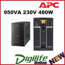 APC Back-UPS 950VA 230V 480W AVR, Australian Sockets 2YR WTY BX950U-AZ