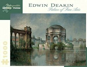 "Pomegranate ""Edwin Deakin Palace of Fine Arts"" 1000 PC Jigsaw Puzzle NEW"