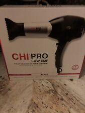 CHI GF8323 Pro Low EMF 1500W Professional Hair Dryer with Diffuser And Nozzle