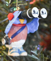 Hallmark: Bird Watcher - 1993 Classic Keepsake Ornament