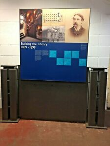 Screens Information and Menu Stand museum notice boards Free Manchester Delivery