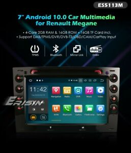 RADIO DVD EXCLUSIVA RENAULT MEGANE ANDROID 10 !! BLUETOOTH,GPS,