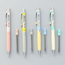 New 1set 0.3mm Mechanical Pencil Automatic Pencil for Writting Kawaii Stationery