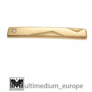585 Gold Krawattenhalter Krawattenklammer Art Deco Stil tie holder 🌺🌺🌺🌺🌺