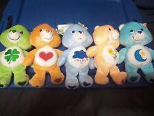 Care Bear Beanie Lot Grumpy, Bedtime, Lots-a-luck,Tenderheart, Friend