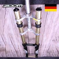 "ZOOM 26"" MTB Bergab Federgabel Gabel 180mm Federweg DH680 20*110mm Disc Forks"