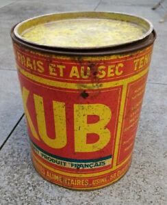 TRES GRANDE BOITE BOUILLON KUB - 23 cm