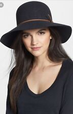 NWT Rag and Bone Dunaway Floppy Brim Felted Wool Fedora Hat Gray Made in USA
