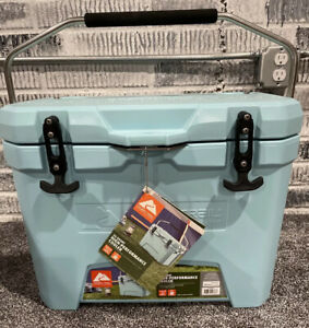 Ozark Trail 26-Quart High-Performance Chest Cooler Heavy-duty Easy Carry Blue