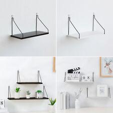 Holz Schwimmende Wall-Shelves Display Aufbewahrung Regal Bücher Pflanzen Halter