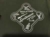 Middletown Ohio Sportsmans Club 2 Sided T Shirt Small Adult Trapshooting