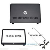New Replacement For HP-Compaq 15-R062TU Laptop Top Lid Back Cover Frame + Hinges