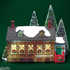 Stoney Brook Town Hall #56428 Retired New England Village Dept 56