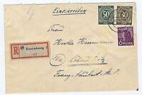 All.Bes./Gemeinsch.Ausg. Mi. 932,928,944, R-Brief Braunschweig, 10.12.47
