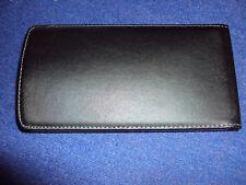 edle  Echtleder Handy - Schutzhülle, aufklappbar mit  Magnet, innen 75x145 mm