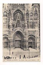rouen cathédrale de rouen la façade  .  76  seine maritime