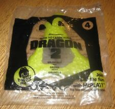 2014 How to Train Your Dragon 2 McDonalds Happy Meal Toy - Gronckle Disc #4