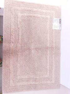 "Kirkland Signature Reversible Bath Rug (24"" x 36"") 100% Organic Cotton NEW"