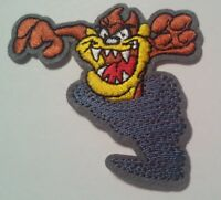 """Tasmanian Devil~Embroidered Patch~3 1/8"""" x 3""""~Looney Tunes~Iron or Sew"""