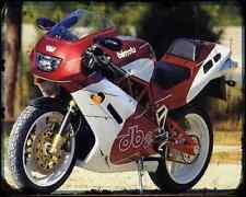 Bimota Db2 93 5 A4 Metal Sign Motorbike Vintage Aged