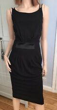 KAREN MILLEN Elegant Black Strappy Dress Size 14 - BNWT WAS £120