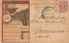 Onoranze Centenaria Paolo Toscanelli 1898 - 04.28