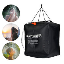 HOT 40L Portable Shower Heating Pipe Bag Solar Water Heater Outdoor Camping Camp