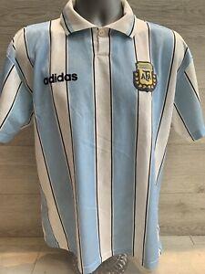 Official Argentina Football Shirt 1994-96 Medium Excelllent Condition Adidas