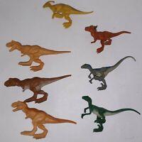 Jurassic World Mini Action Dino LOT OF 7 Blind Bag