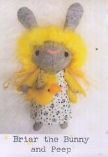 PATTERN - Briar Bunny and Peep - cute softie/toy PATTERN by Frazzy Dazzles