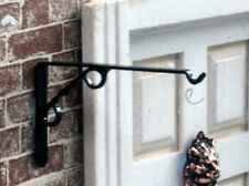 Hanging Basket Bracket, Dolls House Miniature. Flowers Plants, Outdoor Accessory