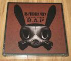 B.A.P BAP Badman 3rd Mini Album CD + STENCIL + PHOTOCARD with FOLDED POSTER NEW