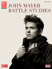 JOHN MAYER BATTLE STUDIES GUITAR TAB SONG BOOK NEW