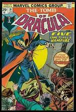 TOMB OF DRACULA #28 - Blade on cover