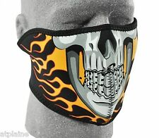 MASQUE NEOPRENE ZAN HEADGEAR BURNING SKULL Taille unique