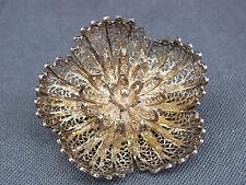 schöne alte Brosche Silber  ca.um 1900 filigran