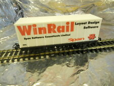 ** Marklin M0001 2-Axel Container Wagon  (Winrail Layout Design Software) 1:87