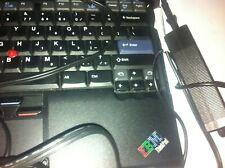 IBM Thinkpad t40 battery, charger, windows xp pro 1500 mhz intel pentium 1ghz 51
