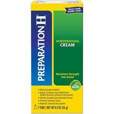 Preparation H Hemorrhoid Symptom Treatment Cream Maximum Strength With Aloe 0.9