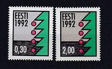 Echt Nach Deutschland Gelaufener Ersttagsbrief Weihnachten 2016 Estland Briefmarken