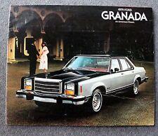 1979 FORD GRANADA Sales Brochure PROMO Automobile AUTO Motor Company FMC Car