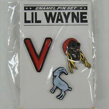 Lil Wayne 2019 VIP Tour Gift Enamel 3 Pin Set