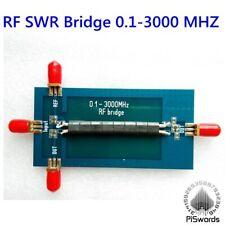 RF SMA SWR Reflection Bridge 0.1-3000 MHZ Antenna Analyzer VHF UHF VSWR return