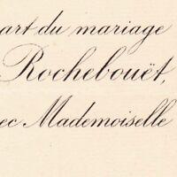Fernand Amédée De Grimaudet De Rochebouët Paris 1888 De Lamotte